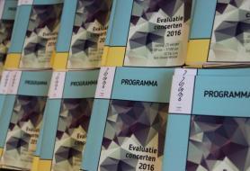 Brochures evaluatieconcert Vlamo