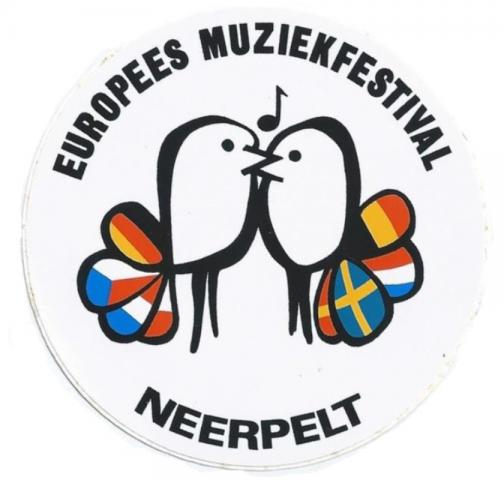 Logo van het Europees Muziekfestival Neerpelt