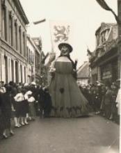 Sprookjesstoet Izegem 1956