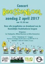 Affiche jeugdconcert Beestenboel op 02 april 2017