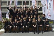 Groepsfoto Euphonia ter gelegenheid van EMJ Neerpelt 2017