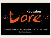 Logo Kapsalon Lore