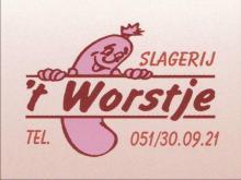 Logo slagerij 't Worstje